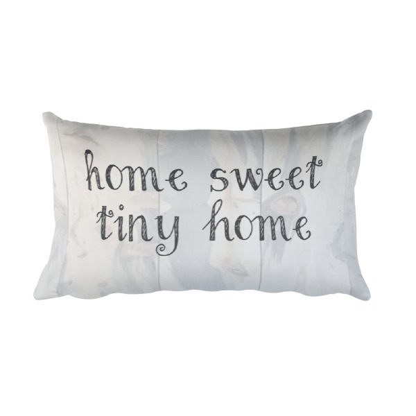 Home sweet tiny home pillow home decor
