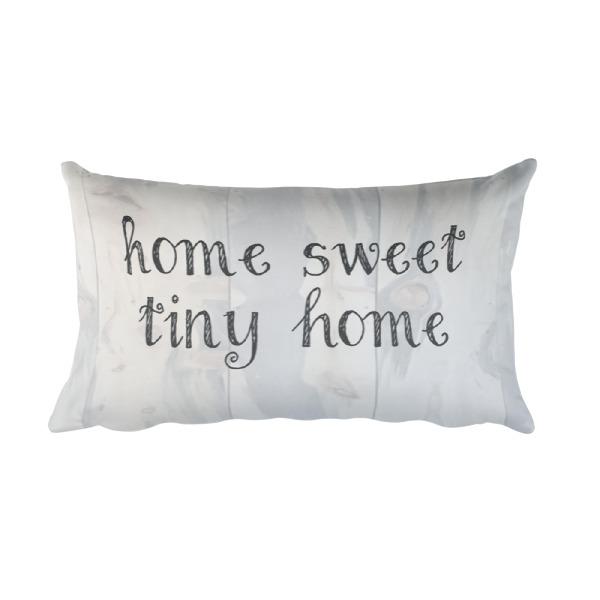 Home sweet tiny home pillow home decor