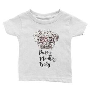 Puggy Monkey Baby Infant T Shirt