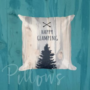 Rillows Glamping camping pillows stuffing with covers